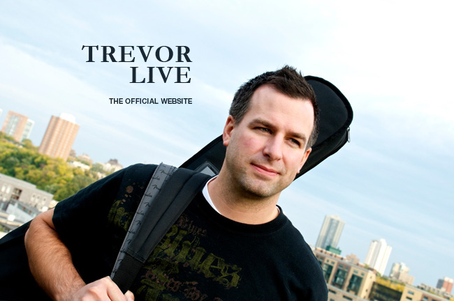 Trevor Live – The Official Website